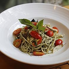 Asian Pesto Pasta (V)