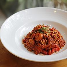 Tomato Seafood Pasta