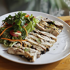 Grilled Herb Chicken With Salad