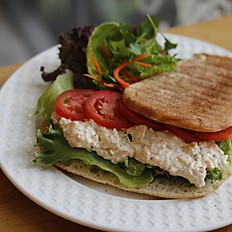 Salmon Lettuce Tomato Sandwich (SLT)