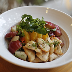 Chicken Orange Roseapple Salad