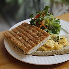 Plain Omelette Sandwich