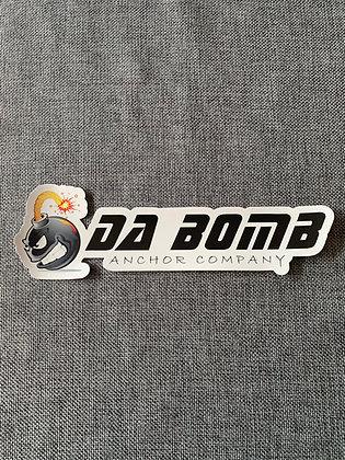 Da Bomb Anchor Company Decal