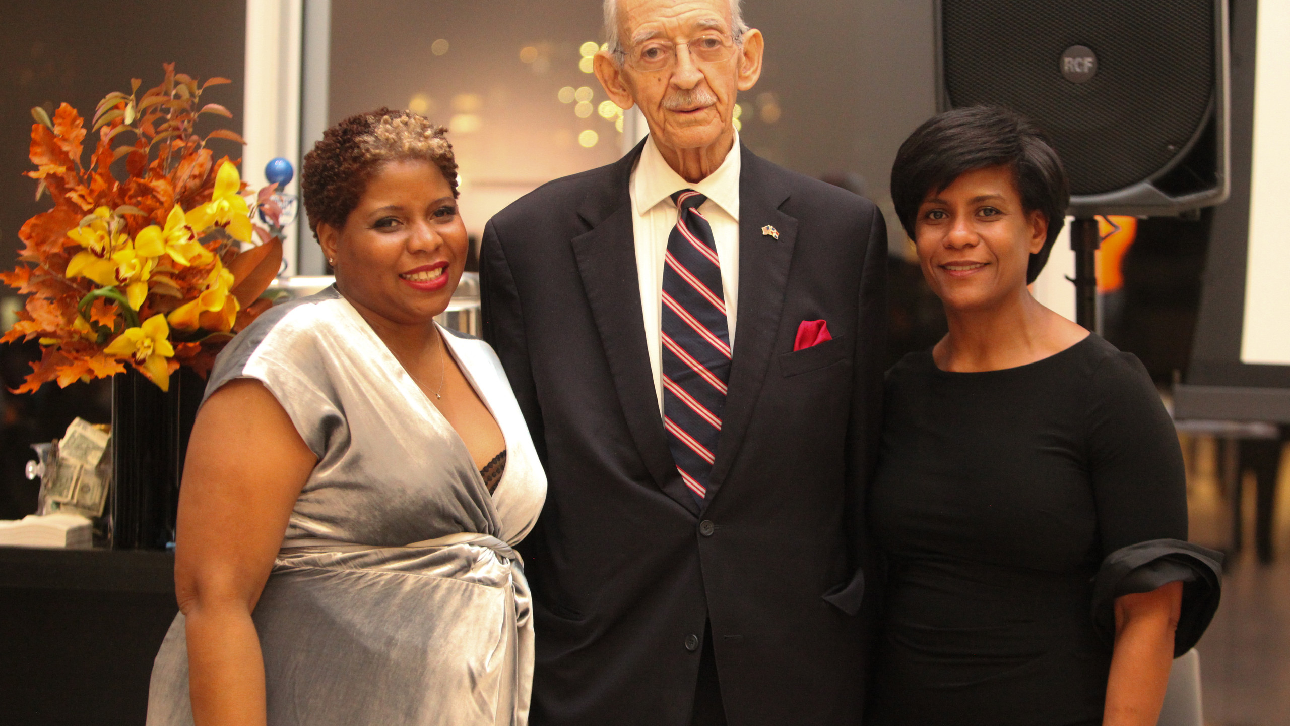 M.L. Wilson Award for Public Service honoree Honorable Herman Denny Farrell