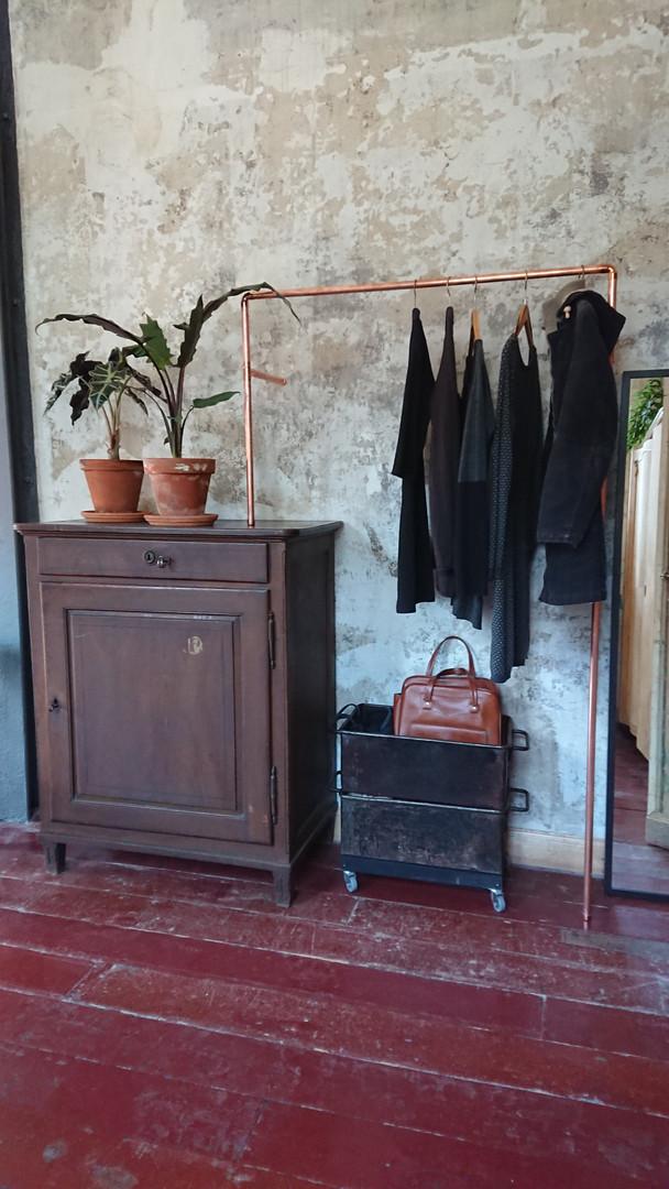 individuell gefertigte Garderobe