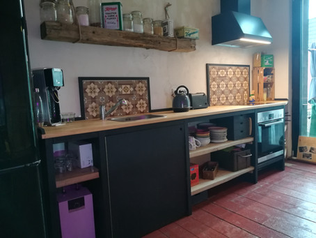 Küche im heimstil-Stil
