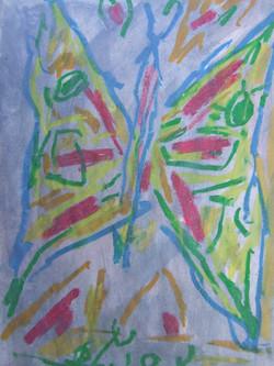 Dessin (papillon) (2001)