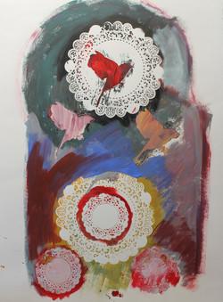 l'Oiseau rouge (II)
