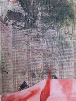 Abstrait V (1999) (collage)