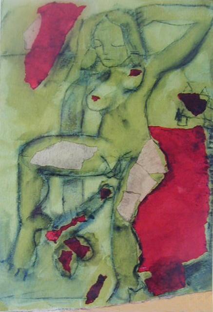 La femme en vert