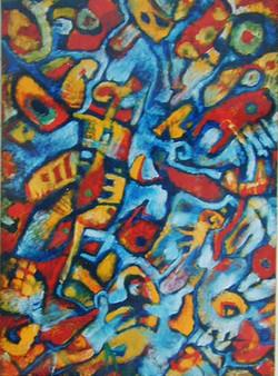Paysage au poisson (1997)