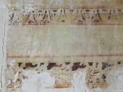 Mur avec motifs