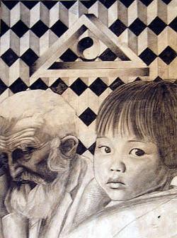 Premier dessin (1992; 15 ans)