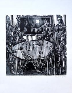 Banquet macabre (estampe, 1996)