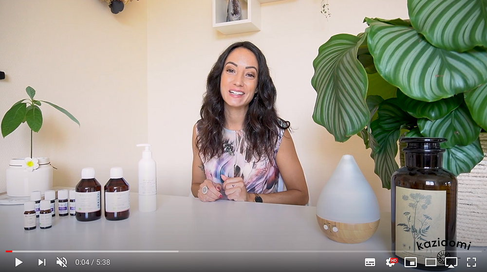 Stella Chartier - Naturopathe vidéo huiles essentielles