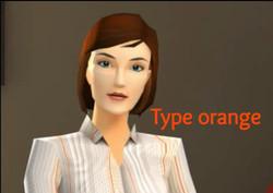 type orange comcolors