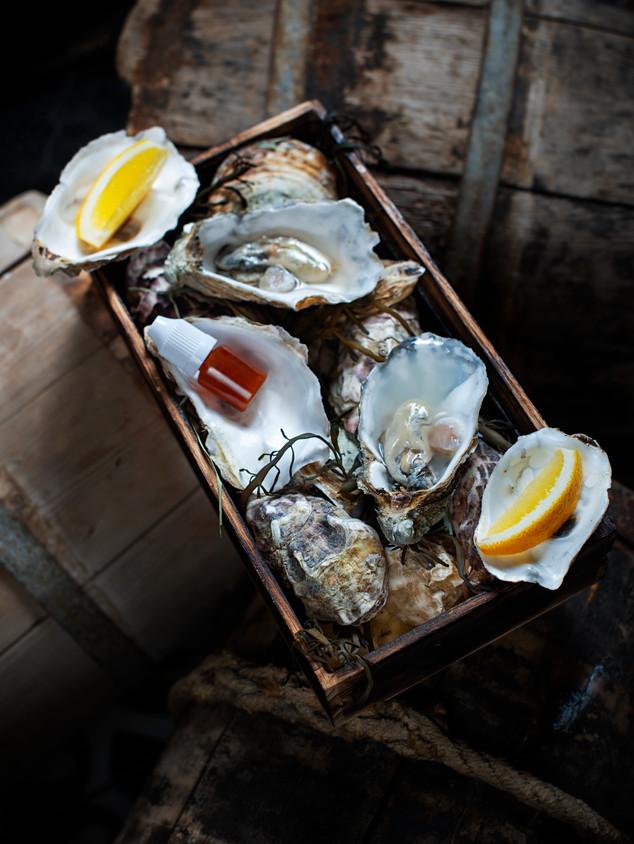 Havfruen fiskerestaurant // Oysters