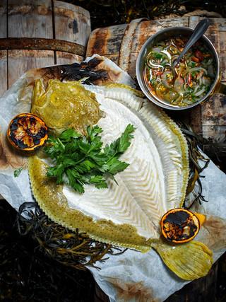 Havfruen fiskerestaurant // Fish dish