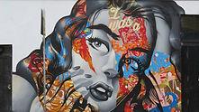 Mural in LA Arts District by Tristan Eaton