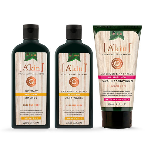Daily Shine Hair Care Set