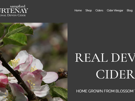 Sampford Courtenay Cider Launches new website