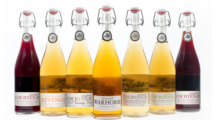 Sampford Courtenay Cider