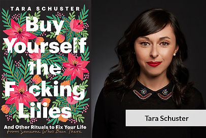 Tara with book cover.jpg