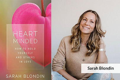 Sarah Blondin with book cover.jpg
