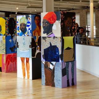 Block on exhibit @ Mass MoCA