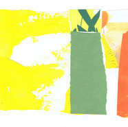 collage yellow green