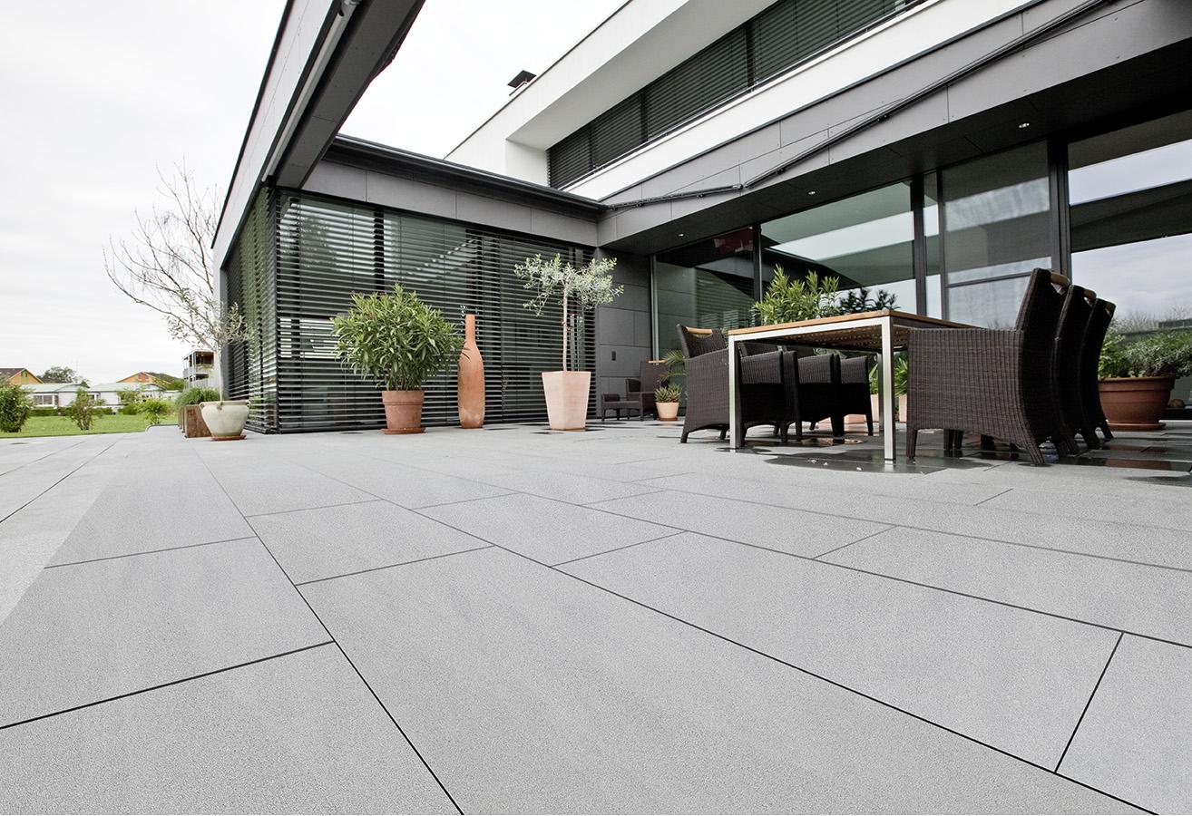 Schwarzachtobler Sandstein Terrasse