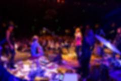 Nicole & Scotty onstage with Lisa Marie Presley and Michael Lockwood at El Rey Theatre, LA, 9/1/13