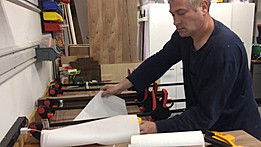 Jointing the boards