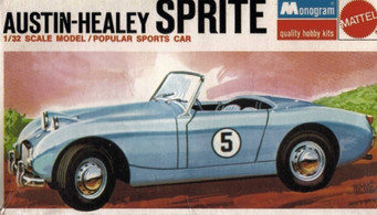 "A CLASSIC BRITISH CAR MODEL KIT ""1958 AUSTIN HEALEY SPRITE"""
