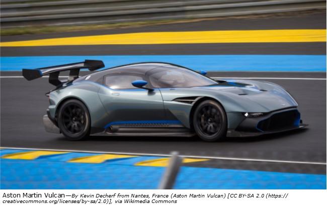 The Aston Martin Vulcan