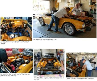 TR6 - Engine Rebuild Project (cont'd)