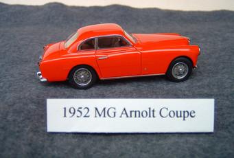 Arnolt MG – the MGTD in Italian Dress