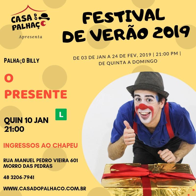 Festival de Verão Casa do Palhaço