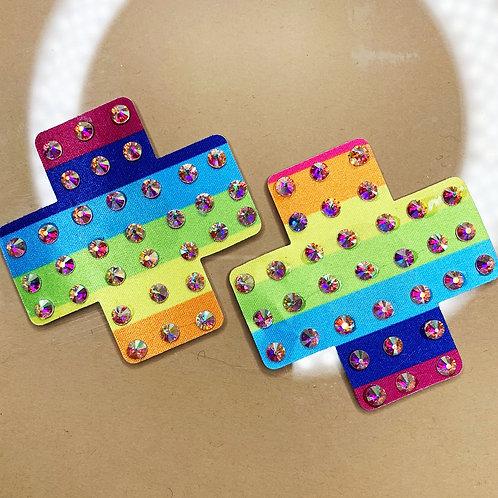 Mini Rainbow Crosses