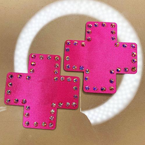 Hot Pink Crosses
