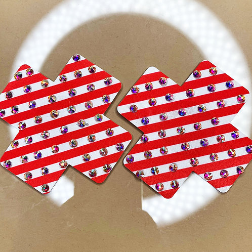 Candy Cane Crosses