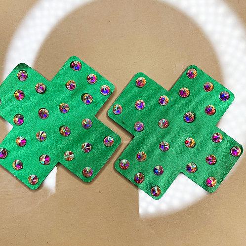 Mini Green Crosses