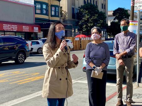 感謝我們的社區領導與我們一起發聲,反對針對華裔的攻擊 / Anti-Asian Racism