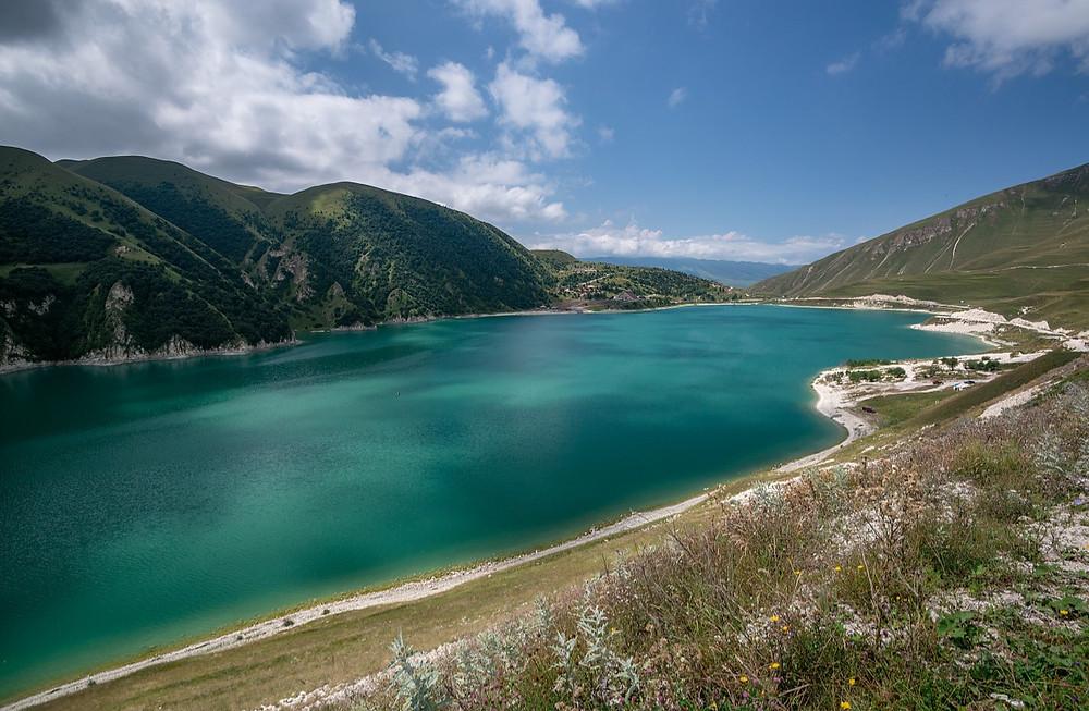 lake kezenoy-am, chechnya, russia