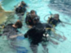 plongeur handicapé