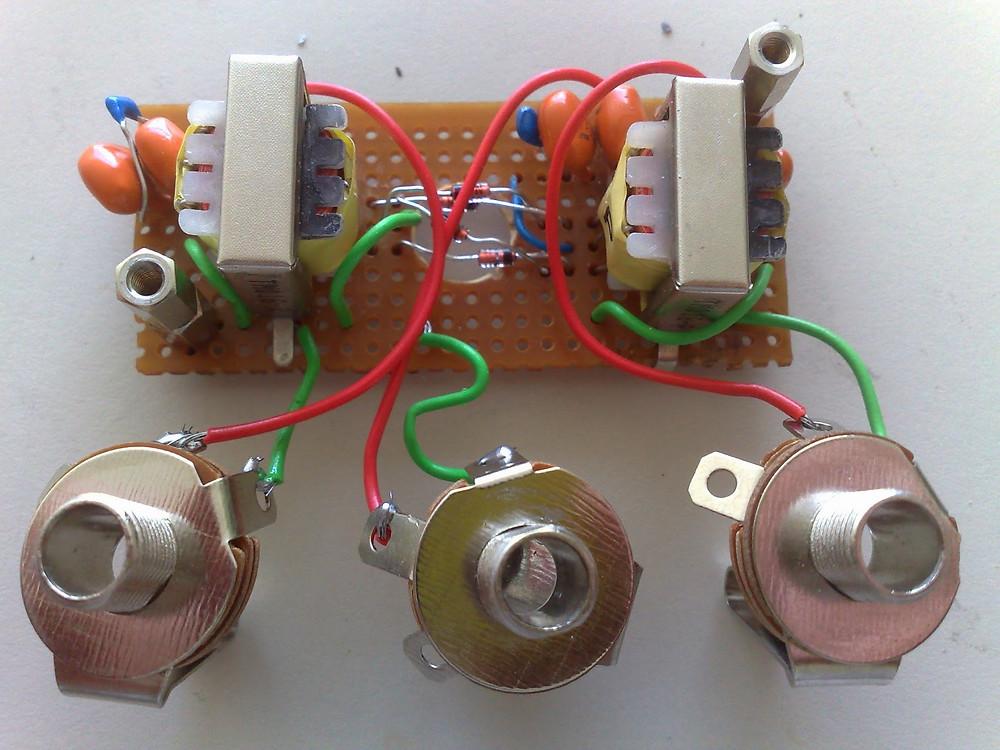 Ring Modulator interior electronics