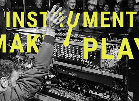 ARTWORK FROM EWASTE @ INSTRUMENTS MAKE PLAY FAIR!  WORM, ROTTERDAM, 14 DECEMBER 2019.