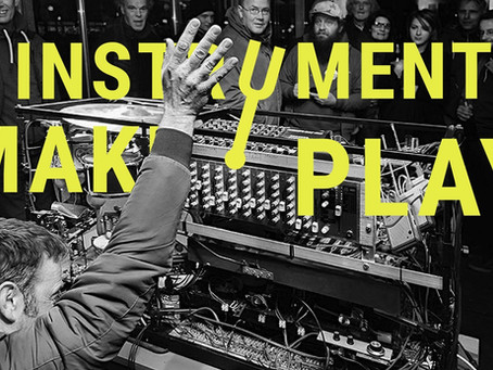 ARTWORK FROM EWASTE @ INSTRUMENTS MAKE PLAY FAIR!  WORM, ROTTERDAM, 14 DECEMBER 2019.