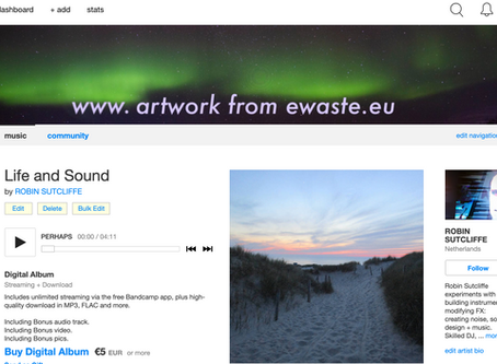 """NEW ALBUM """"LIFE AND SOUND"""" LAUNCHED!"""