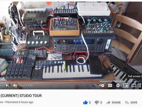 Current Studio Tour!